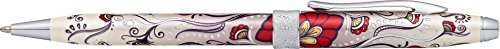 Cross Botanica Kugelschreiber (Strichstärke M, Schreibfarbe: schwarz, inkl. Premium Geschenkbox) 1 Stück roter Kolibri