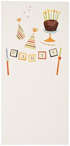 Mara-mi gâteau et chapeau Jubilee Imprintable Invitation, 10-count (46355)