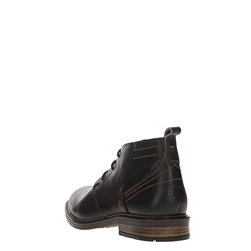 Wrangler Roll Desert Leather, Bottes Classiques homme Dk.brown