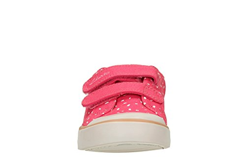 Clarks Mädchen Comic Cool Inf Low-Top Rose