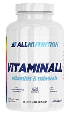 ALLNUTRITION Vitaminall Vitamine Mineralien Nahrungsergänzungsmittel Bodybuilding (60 Kapseln)
