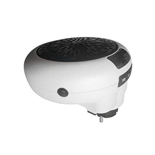 900 w Tragbare drehen Stecker Heißluftheizung Heizung Elektro-Heizlüfter Mini Elektroheizung für Heizung Home Office - Weiß