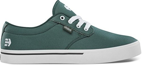 Es Skateboard-schuhe (Etnies Skateboard Schuhe Jameson 2 Eco Dark Green Shoes, Schuhgrösse:46)