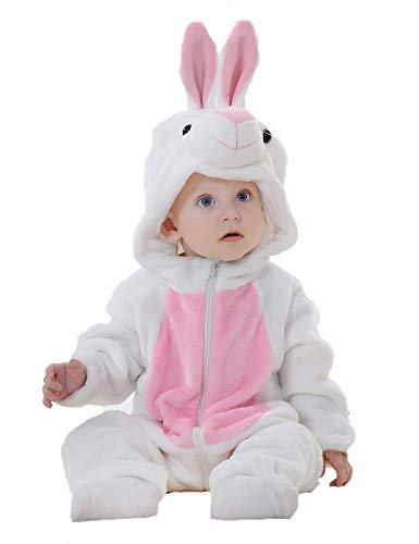 Echinodon Baby Strampler Kostüm Babyanzug Overall Jumpsuit Spielanzug für Karneval Fasching Halloween Tier-Form