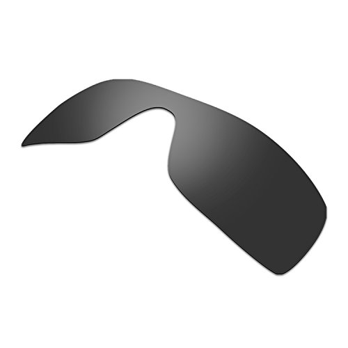 HKUCO Plus Mens Replacement Lenses For Oakley Batwolf Sunglasses Black Polarized