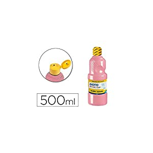 Giotto 535320 Témpera Escolar, 500 ml, color rosa carne