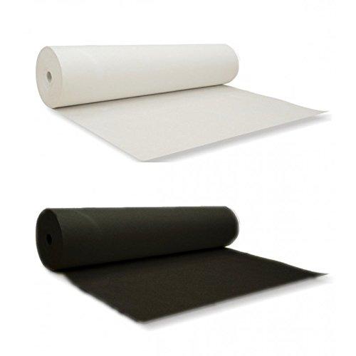 Bügelvlies mit Klebepunkten 180H zum Aufbügeln | Einseitig | Vlieseinlage | Bügeleinlage| Farbe weiß #1 / Lange: 4 Meter