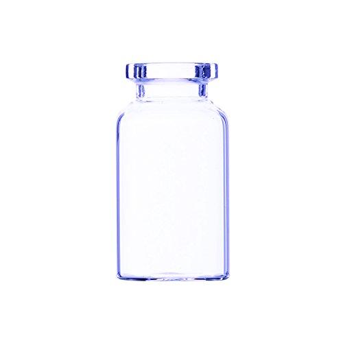 Wheaton 150826D Vial De Inyección Tubular, 10 ml