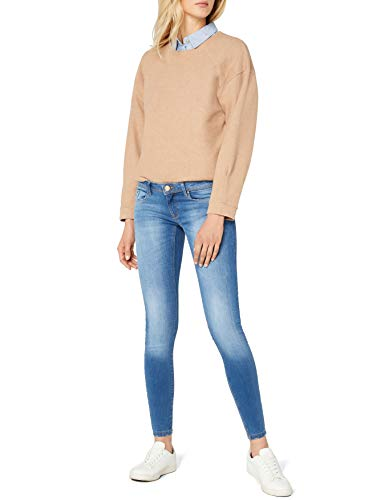 ONLY Damen Skinny Jeans onlCORAL SL SK DNM SOO1743B NOOS, Blau (Medium Blue Denim), W28/L30