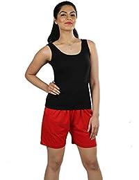 0adc1539fd2a Splash Fine Cotton Rich Camisole Slip for Women| Women's Camisoles | Suit  Slip Nighty (