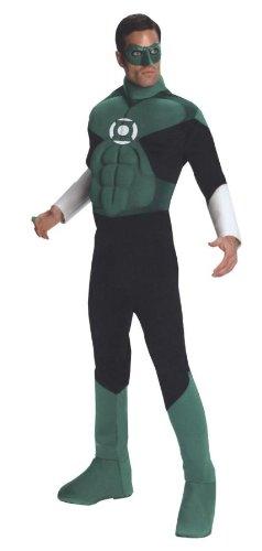Green Lantern Kostüm muskulösen