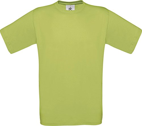 B & C Herren Casual Wear Short Sleeve Crew Neck Baumwolle Tees TOP SHIRT Exact 150 Grün - Pistachio