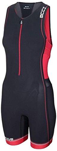 Huub Damen Core Tri Suit L schwarz/rot