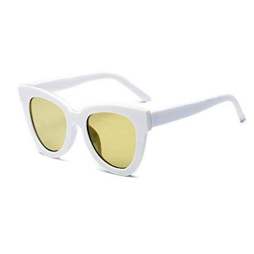 QUINTRA Frauen MäNner Frauen MäNner Frauen MäNner Vintage Retro Brille Unisex Mode Flieger Spiegel Sonnenbrille (Rabatt Kontaktlinsen Online)