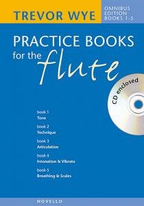 Trevor Wye: Practice Books For The Flute - Omnibus Edition Books 1-5 (CD Edition)