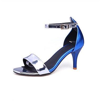 LvYuan sandali delle donne della molla scarpe club estivo fustigano festa all'aperto&sera Gold