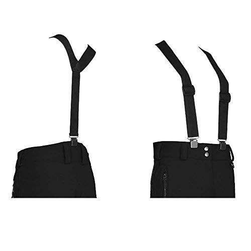 Killtec Wing Hosenträger für Skihosen, schwarz, 1