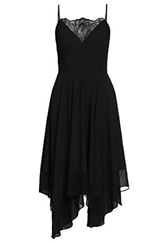 MISS SELFRIDGE Maxikleid - black Gr. 36