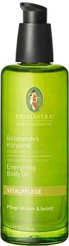 PRIMAVERA Belebendes Körperöl Ingwer Limette DOPPELPACK 2x100ml