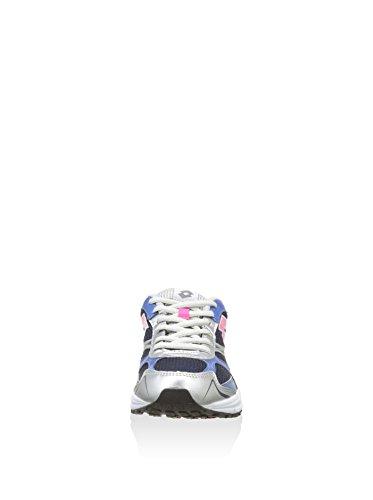 Lotto , Sneakers Basses femme GRIGIA BLU E ROSA