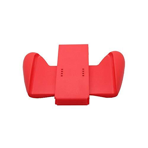Haolv pour Nintendo Switch Couvercle du Support en Plastique pour Manette Joy-Con Controller Gamepad Comfort Grip,Red
