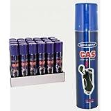 RECHARGE GAZ UNIVERSEL BRIQUET ZIPO,ALLUME GAZ 5 EMBOUT 90ml
