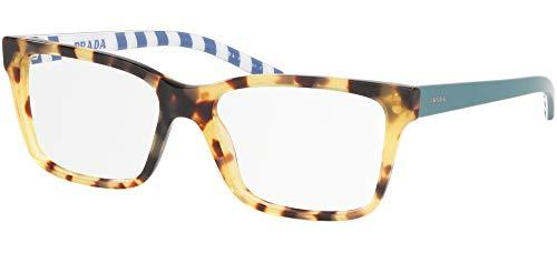 Ray-Ban Damen 0PR 17VV Brillengestelle, Blau (Medium Havana), 52.0