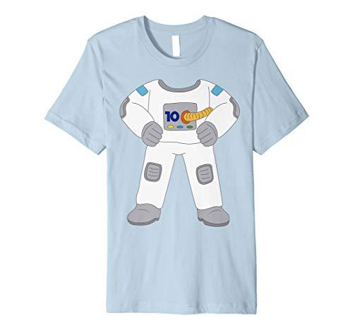 10 Years Old Astronaut Kostüm 10th Birthday Funny -