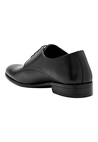 next Chaussures Derby Unies - Pointure Large Noir