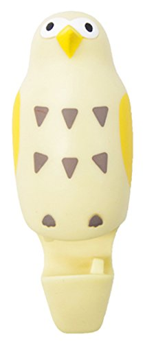 Vogel Shaped Saugnapf Zahnbürstenhalter (Owl / Gelb) Mirro Top