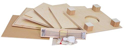 baff Musikmöbel Kindertrommelhocker Bausatz Cajon-Bausatz mit Sitzhöhe 30 cm