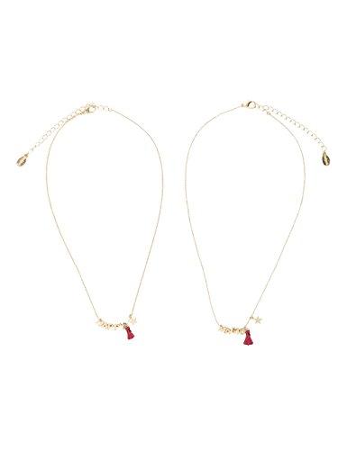 Desigual Collar Mujer latón - 18SAGO418010U