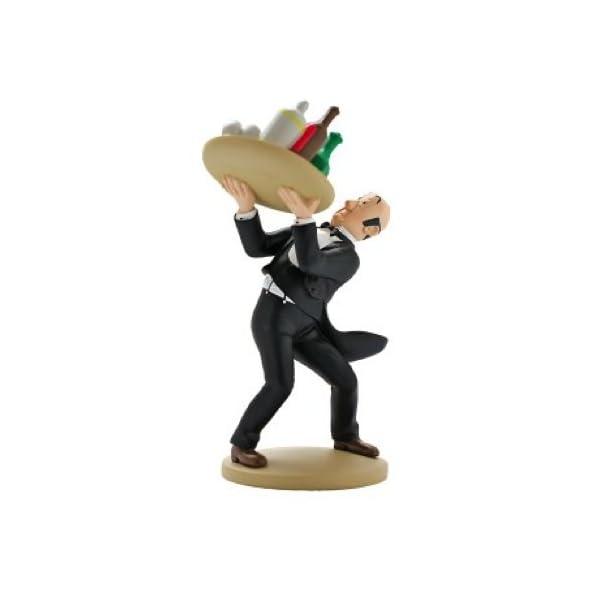 Moulinsart Figura de colección Tintín Néstor mayordomo 15cm 42189 (2014) 1