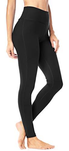 Power Stretch Tights (QUEENIEKE Damen Power Flex Yoga Hosen Training Laufende Leggings Farbe Schwarze Größe M(8/10)
