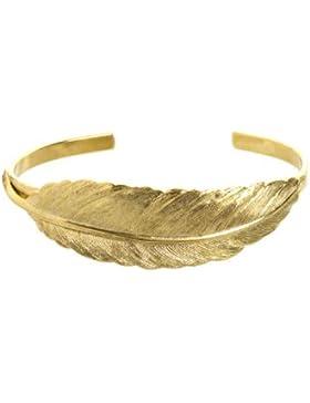 Tom Shot - Feder Gold Armband