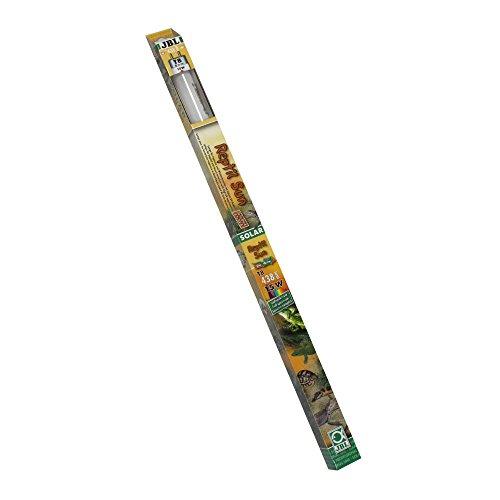 JBL 61650 Spezial Terrarienleuchtstoffröhre für Wüstentiere, Solar, 43.8 cm, 15 W, Solar Reptil Sun T8