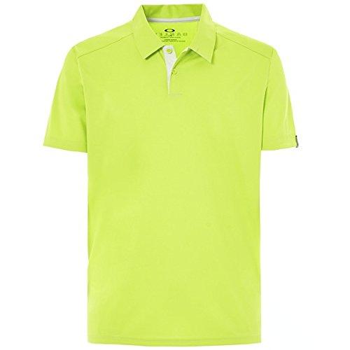 Oakley Golf Herren Divisional-Polo-Hemd - Lime Grün - S