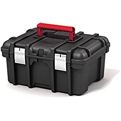 "KETER | Boite à Outils Jumbo 16"" NEW, Noir, tool boxes, 41,9x32,7x20,5 cm"