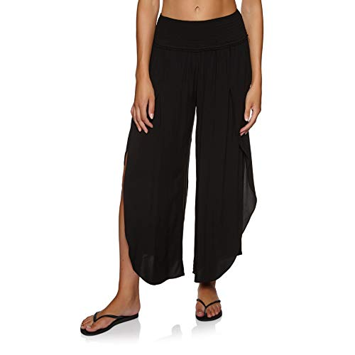 Seafolly Sun Temple Shirred Waist Wrap Pant Womens Trousers