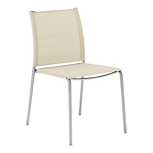GARPA Porto Stuhl Pearly White
