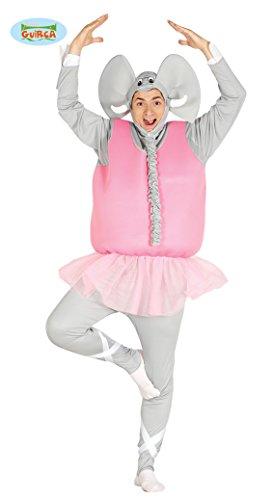 rosa Männer Elefanten Ballerina Junggesellenabschied Rock Tütü Herrenkostüm M/L, Größe:L