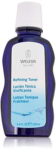 WELEDA Belebendes Gesichtswasser, erfrischendes Naturkosmetik Tonikum gegen unreine Haut und zur Verfeinerung des Hautbildes, Gesichtsreinigung für jeden Hauttyp geeignet (1 x 100 ml)