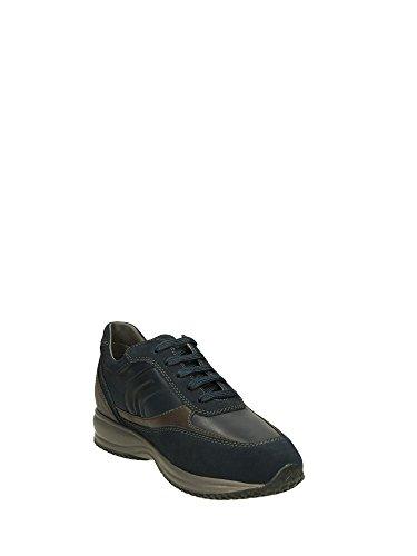 Sneakers Dos U4462a04322cf4l6 Azul De Geox Homens Couro apHnwUaq
