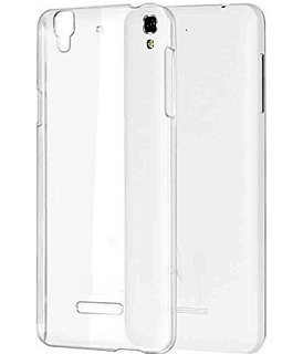 SDO Dotted Finish Ultra Thin Silicone Soft Case Back Cover for Micromax YU Yureka Plus - Transparent with Clear Screen Guard
