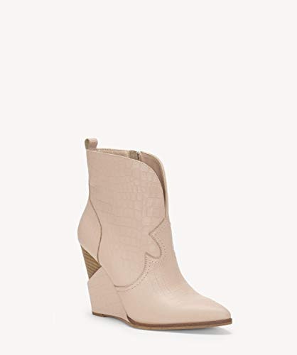 Jessica Simpson Espadrille (Jessica Simpson Frauen Hilrie Spitzenschuhe Leder Fashion Stiefel Pink Groesse 8 US /39 EU)