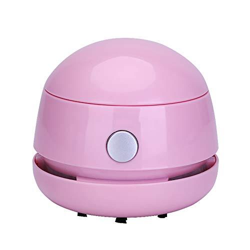 Unbekannt Staubsauger Handstaubsauger Desktop Cleaner Radiergummi-Hacker Aufräumen der Aschepapierreste (3 Farben) Handstaubsauger (Farbe : Pink)