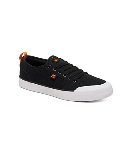 DC alevros - Evan Smith S Low Top senza tempo a forma di scarpa Black and Orange