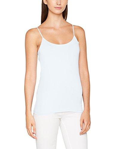 ONLY Damen Top Onllive Love New Strap Singlet Noos, Weiß (White), 38 (Herstellergröße:M)
