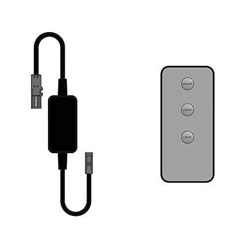 LED Funk-Controller Set Fernbedienung 12-24V 36-72W dimmbar kalb -