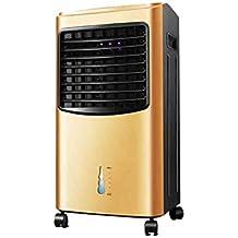 SUNNY Enfriador de aire evaporativo con calentador de ventilador, humidificador y funciones de purificador de aire, uso doble frío y caliente, 3 velocidades ...